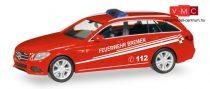 Herpa 093583 Mercedes-Benz C-Klasse T-Modell tűzoltó, Feuerwehr Bremen (H0)