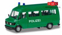 Herpa 094139 Mercedes-Benz T1 busz, német rendőrség - Polizei - Herpa Basic (H0)