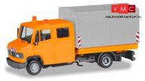 Herpa 094177 Mercedes-Benz T2 platós/ponyvás kommunális teherautó - Herpa Basic (H0)