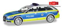Herpa 094405 Audi A6 Ž Avant - Polizei Baden-Württemberg (H0)
