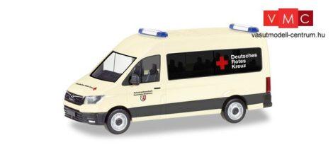 Herpa 094467 MAN TGE HD mentő - Deutsches Rotes Kreuz / Katastrophenschutz Nordrhein-Westfalen