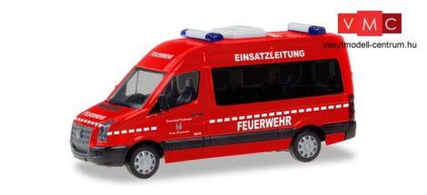 Herpa 094597 Volkswagen Crafter HD tűzoltó busz - Einsatzleitung Feuerwehr Eschwege (H0)