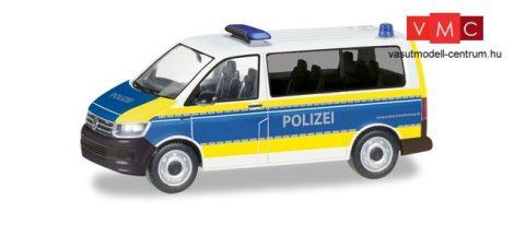 Herpa 094672 Volkswagen Transporter T6 busz, Polizei Brandenburg (H0)