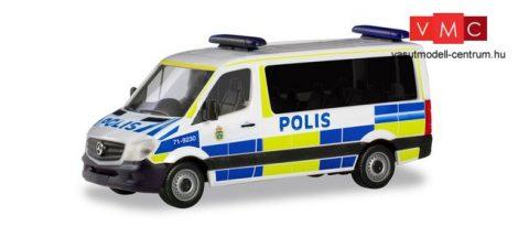 Herpa 094719 Mercedes-Benz Sprinter 2013 FD, Polis (H0)