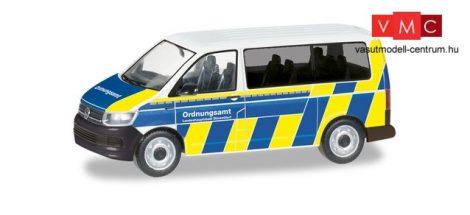 Herpa 094764 Volkswagen Transporter T6, Ordnungsamt Düsseldorf (H0)