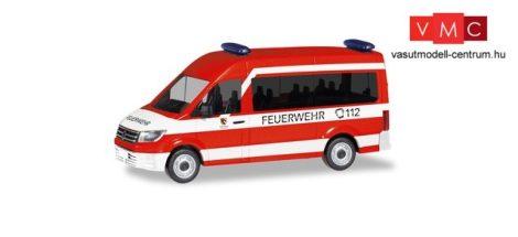Herpa 095013 Volkswagen Crafter HD busz, tűzoltó MTW - Feuerwehr Nürnberg-Neunhofen (H0)
