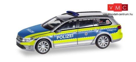 Herpa 095020 Volkswagen Passat GTE, Polizei Hessen (H0)