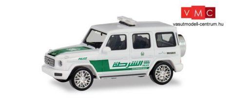 Herpa 095082 Mercedes-Benz G-Klasse, Police Dubai (H0)