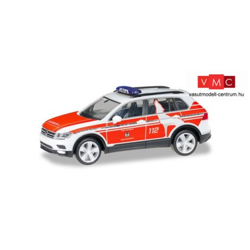 Herpa 095273 Volkswagen Tiguan tűzoltó, FW Wolfsburg (H0)
