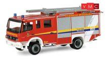Herpa 095365 Mercedes-Benz Atego 2004 HLF 20/20 tűzoltóautó, FW Meersburg (H0)