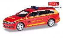 Herpa 095426 Volkswagen Passat Variant tűzoltó, FW Dresden (H0)