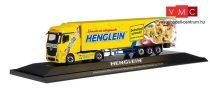 Herpa 121927 Mercedes-Benz Actros Bigspace nyergesvontató, hűtődobozos félpótkocsival - He
