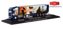Herpa 122016 Scania R'13 TL nyergesvontató, hűtődobozos félpótkocsival - Pille / Peace not