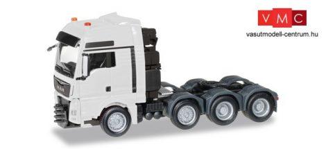 Herpa 304375-003 MAN TGX XXL 640 Euro6 nehézteher vontató (H0) - fehér