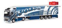 Herpa 308014 Volvo FH 16 Gl. XL nyergesvontató, hűtődobozos félpótkocsival - Lang Transpor