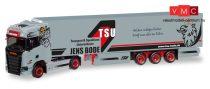 Herpa 308809 Scania CS HD nyergesvontató, hűtődobozos félpótkocsival - TSU Bode (H0)