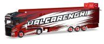 Herpa 309493 Scania R TL nyergesvontató, hűtődobozos félpótkocsival - Bruno Valcarenghi (I