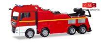 Herpa 309608 MAN TGX XLX Euro 6c Empl műszaki tűzoltósági kamionmentő - Feuerwehr (H0)