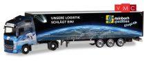 Herpa 309875 Volvo FH GL XL nyergesvontató, ponyvás félpótkocsival - Steinbach Logistik (H0