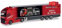 Herpa 310024 Volvo FH GL XL nyergesvontató, hűtődobozos félpótkocsival - Gesuko / der 1.00