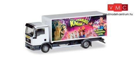 Herpa 310161 MAN TGL dobozos teherautó - Zirkus Charles Knie (H0)