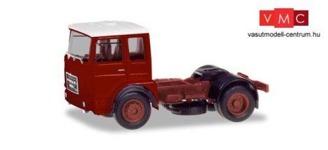 Herpa 310550 Roman Diesel 4x2 nyergesvontató, barnáspiros (H0)