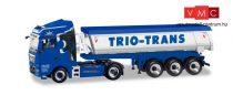Herpa 310673 MAN TGX XLX Euro 6c nyergesvontató, Thermobillencs félpótkocsival - Trio-Trans