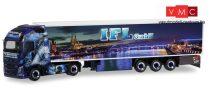 Herpa 311106 Volvo FH Gl. XL nyergesvontató, hűtődobozos félpótkocsival - IFL Köln (Nordrhein-Westfalen / Köln) (H0)