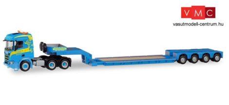 Herpa 311397 Scania CR ND nyergesvontató, munkagépszállító félpótkocsival - Martin Wittw