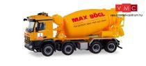 Herpa 311465 Mercedes-Benz Arocs S 4-tengelyes betonkeverő - Max Bögl (H0)