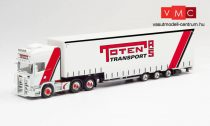 Herpa 312363 Scania R'13 TL nyergesvontató, Meusburger ponyvás félpótkocsival - Toten Trans