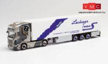 Herpa 312431 Scania R 2013 TL nyergesvontató, hűtődobozos félpótkocsival - Lechner Trans (