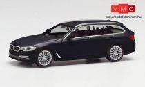 Herpa 420389-002 BMW 5-ös Touring, fekete (H0)