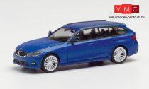 Herpa 430821 BMW 3-as Touring, tansanitkék (H0)