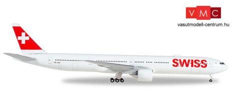 Herpa 529136-002 Boeing B777-300ER Swiss International Air Lines, HB-JNF (1:500)
