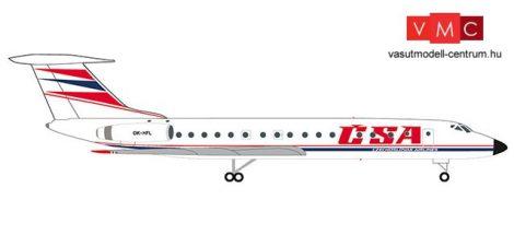 Herpa 532945 Tupoljev TU-134A CSA - Czechoslovak Airlines (1:500)