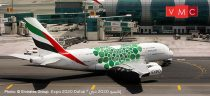 Herpa 533522 Airbus A380 Emirates, Expo 2020 Dubai, Sustainability livery (1:500)