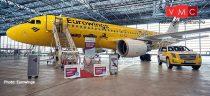 Herpa 533560 Airbus A320 Eurowings, Hertz 100 Years (1:500)