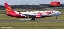Herpa 533638 Boeing B737 MAX 8 Spicejet King Chilli (1:500)