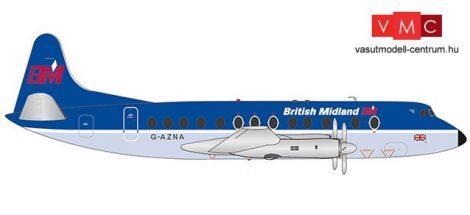 Herpa 559591 Vickers Viscount 800 British Midlands (1:200)