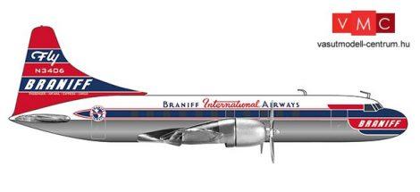 Herpa 559621 Convair CV-340 Braniff International Airways (1:200)