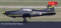 Herpa 580519 Pilatus PC 7 Turbo Trainer, Royal Netherlands Air Force - 131 Sqd,