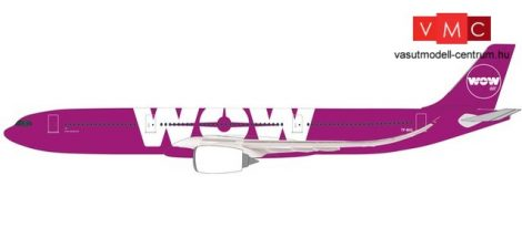 Herpa 612272 Airbus A330-900neo -Wow Air (1:200)