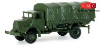 Herpa 740777 MAN 630 L2 AE 5t 4x4 katonai ponyvás teherautó (H0)