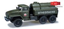 Herpa 744300 URAL 4320 katonai tartálykocsi, CA (H0)