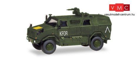 Herpa 746595 ATF Dingo 2 páncélozott katonai jármű, Bundesheer / KFOR (H0)