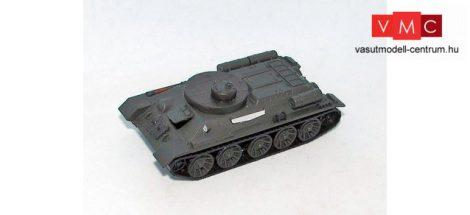 Herpa 746670 T-34 BREM lánctalpas műszaki harckocsi, Vörös Hadsereg - UDSSR (H0)