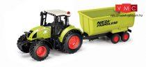 Herpa 84184015 CLAAS ARION 540 Traktor billencs utánfutóval (1:32)