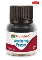 Humbrol AV0001 Weathering Powder 28 ml - Black - Fekete Enamel pigmentpor