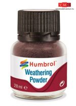 Humbrol AV0007 Weathering Powder 28 ml - Dark earth - Sötét föld Enamel pigmentpor